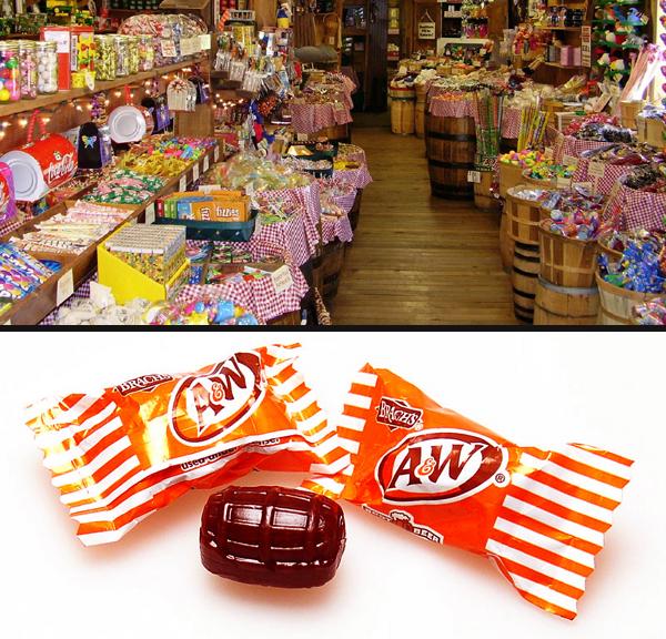 Candybarrels
