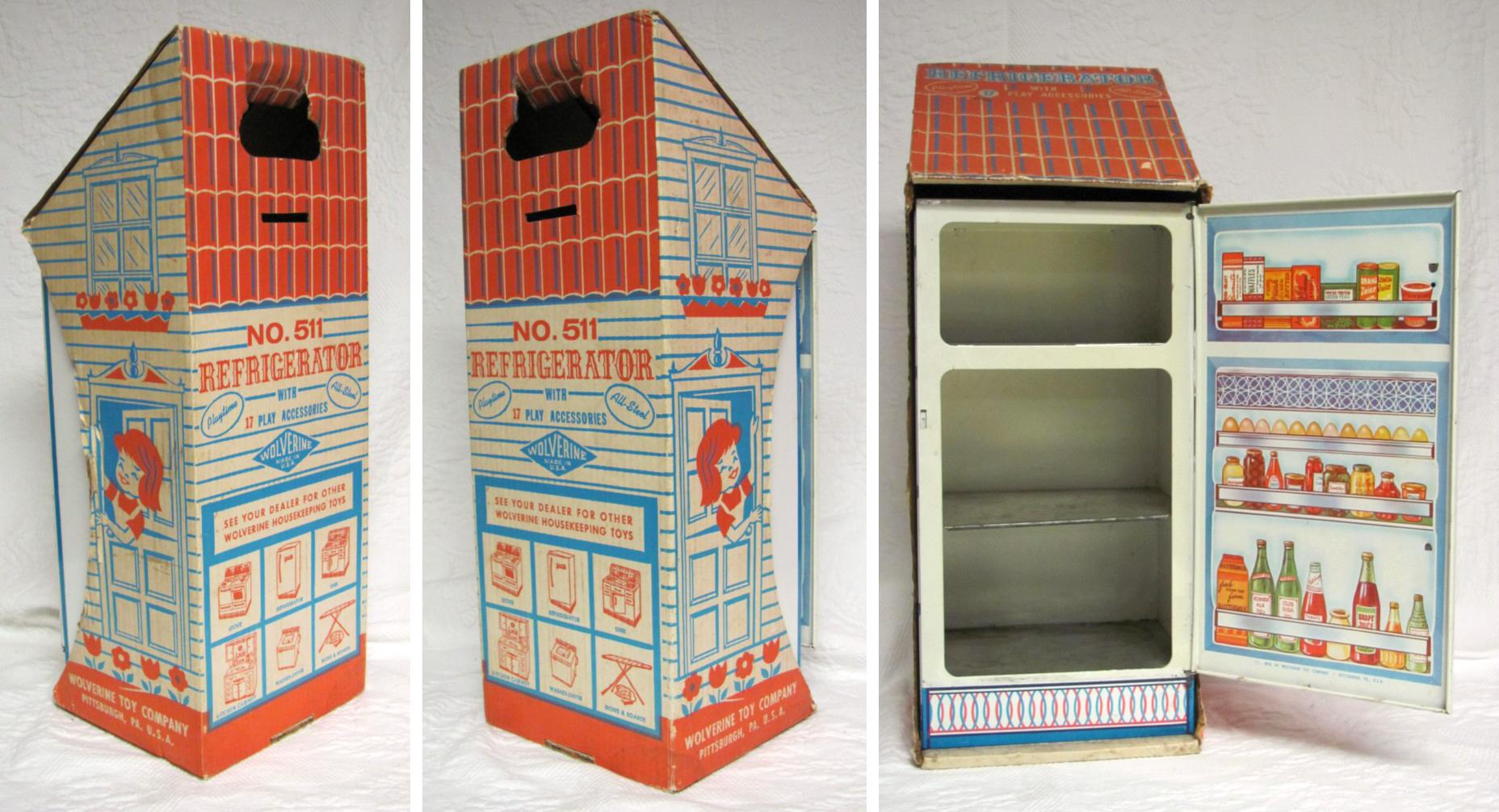 Package Design Wolverine Toy Refrigerator Doors Beach