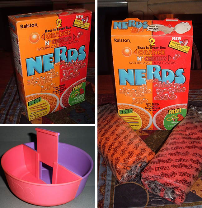 """The Nerds Cereal Box: """"an Industry First"""""""