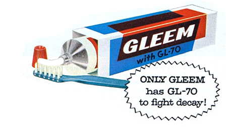 Gleem toothpaste discontinued