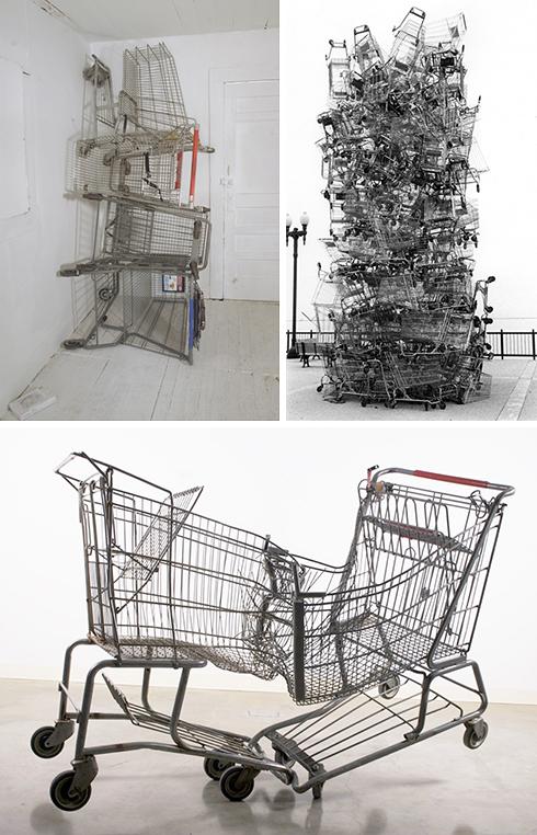 3ShoppingCartSculptures
