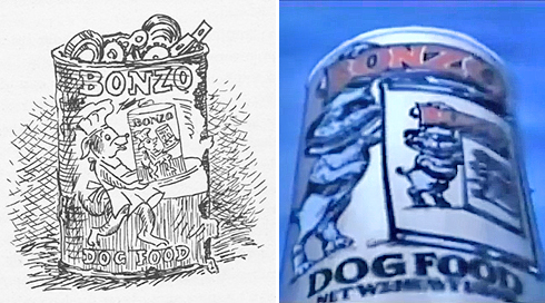 Abound Dog Food Cans