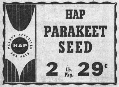 HapParakeetFood