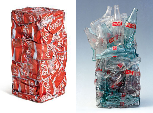 how to cut and compress coke