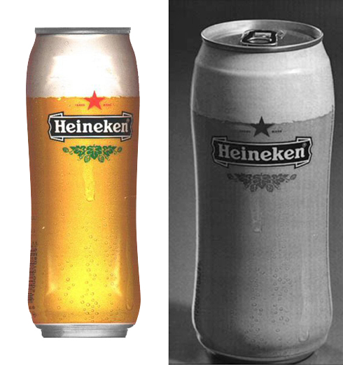 HeinekenBeerGlassShapedCan