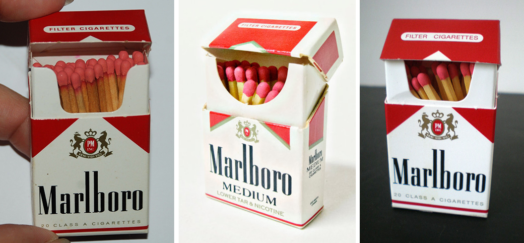 MarlboroFlipTopMatchboxes