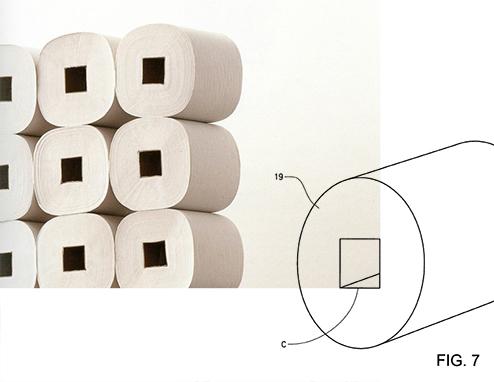 Square Toilet Paper