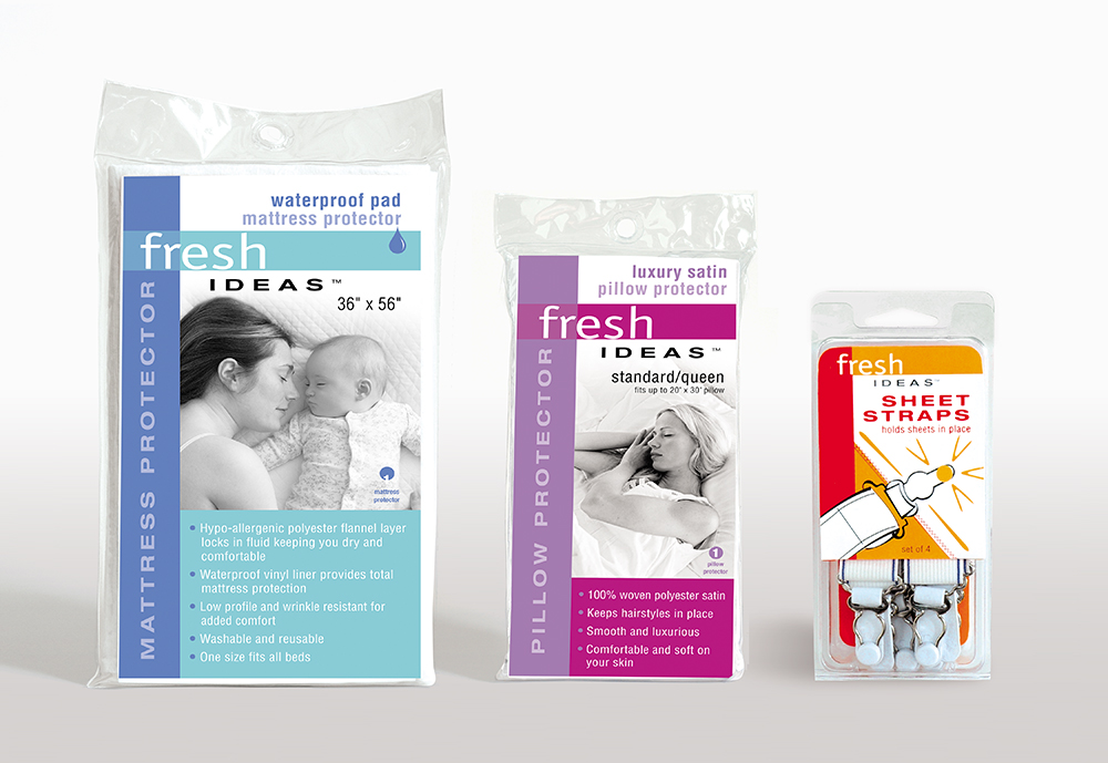 Fresh Ideas brand package design