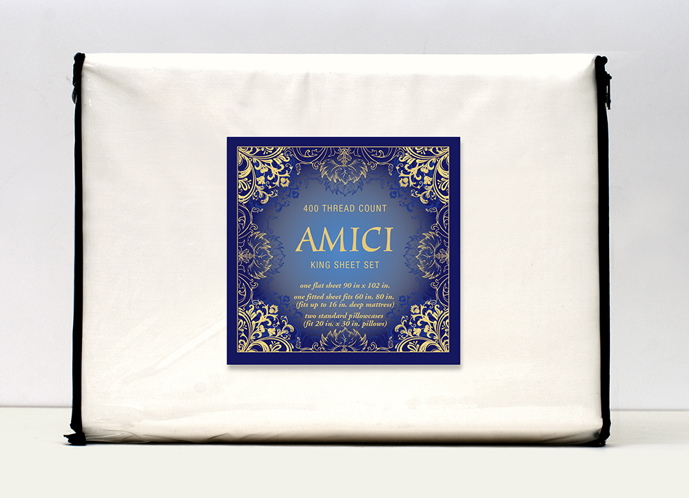 Amici-sheet-set-package-design