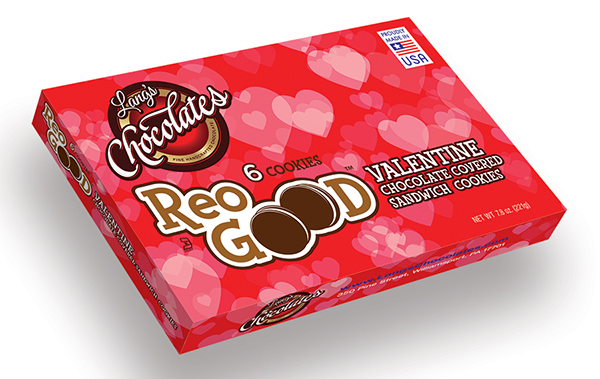 ReoGood Valentines cookies packaging design