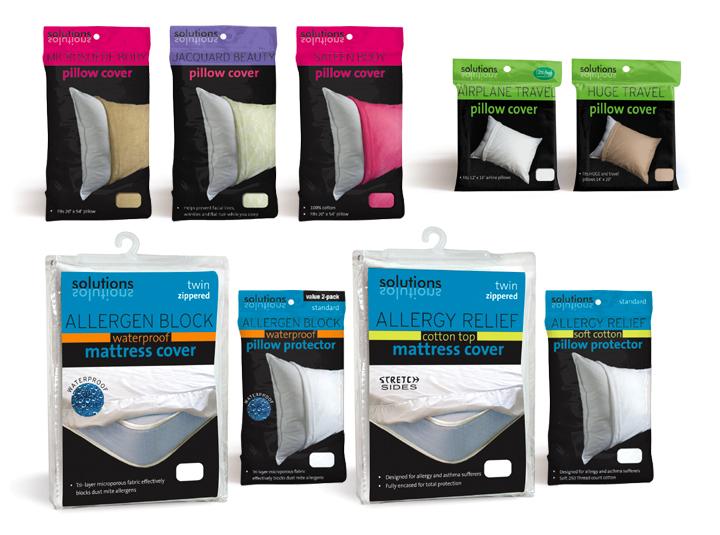 Solutions-Pillow-Mattress-Cover-packaging-home textiles branding