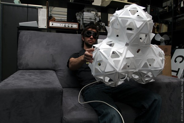 tetrahedral packaging for Абажурус lamps