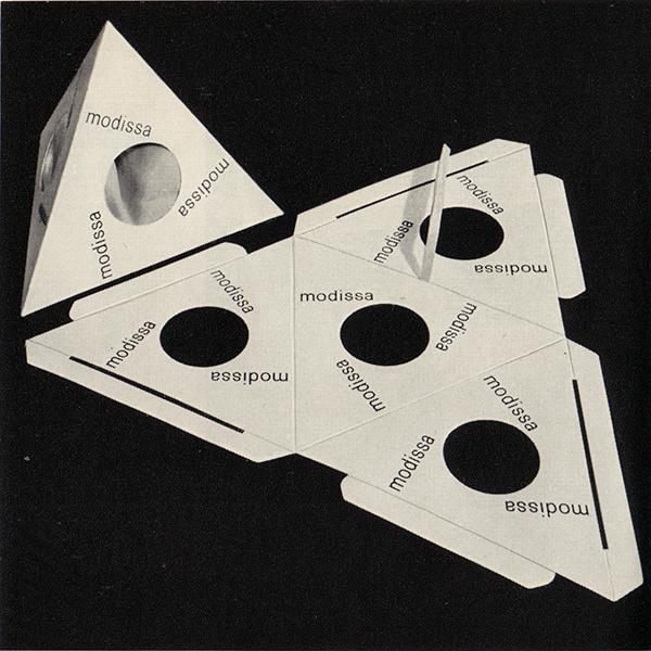 Terahedral pack by Burton Kramer