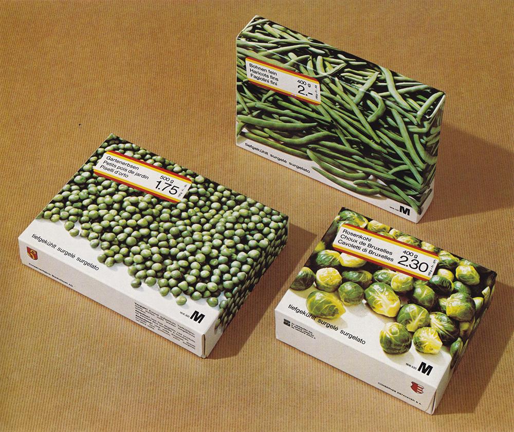 Migros Frozen Food Packaging Design