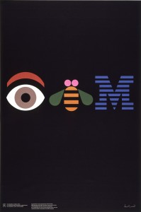 Paul-Rand-eye-bee-M-poster-1981