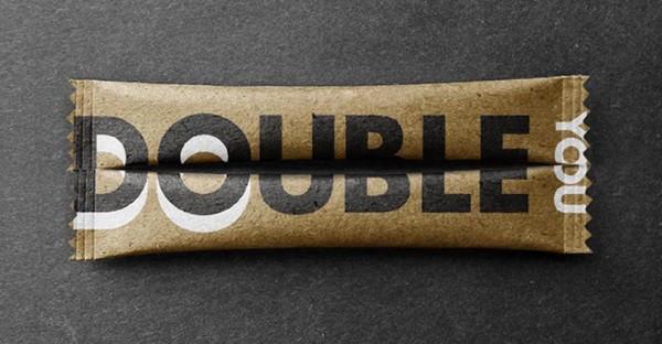 DoubleYou- flow wrap Twin Pack Design