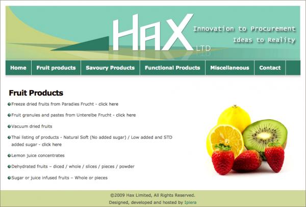 Hax-Ltd-website