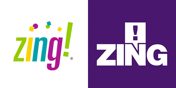 Zing! vs. Zing! different brands — same brand name