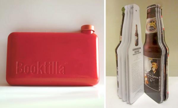 Booktilla-Beer-Book book shaped bottle