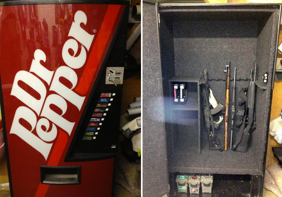 Soda Machine Gun Safes: 5 Brands | BEACH