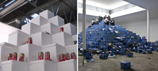 Oasis-vs-Recovery-of-Discovery-beer-pyramids
