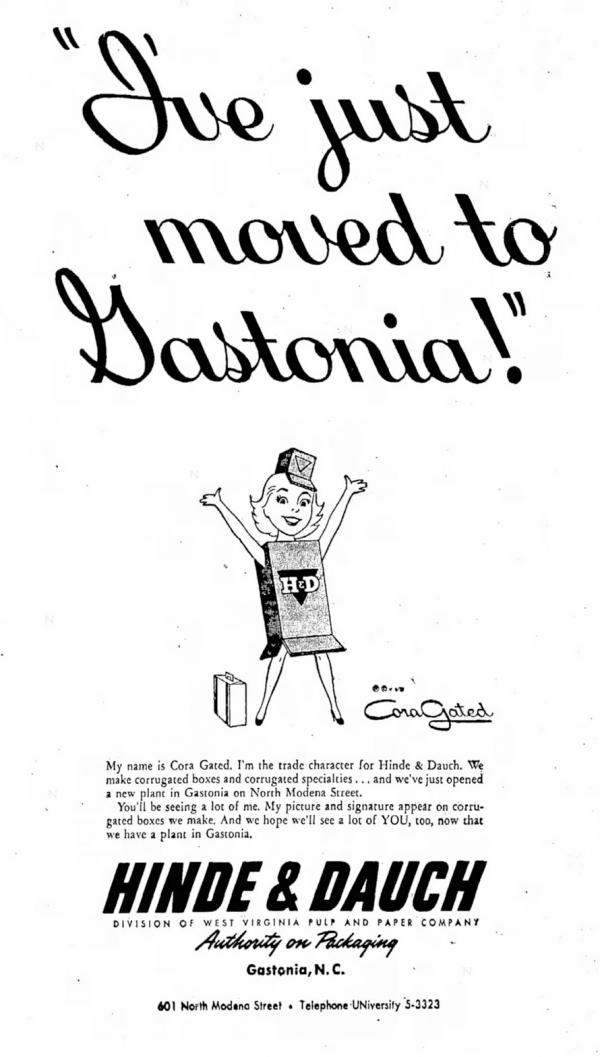 cora-gated-gastonia-gazette-1955-ad