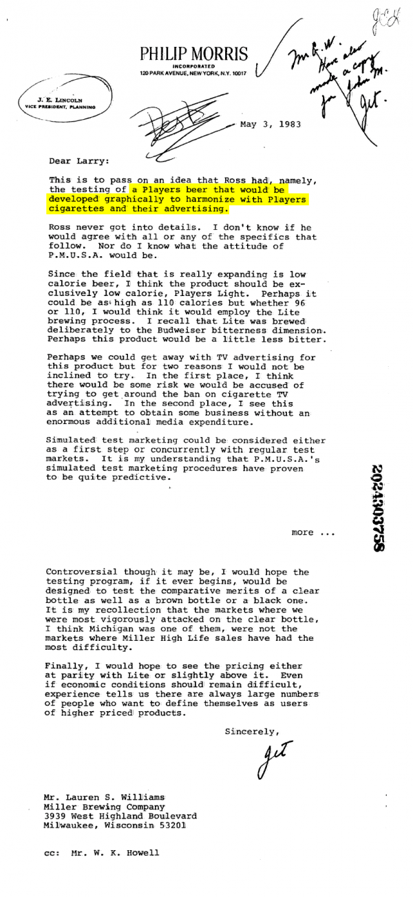 millerbrewingletter-1983
