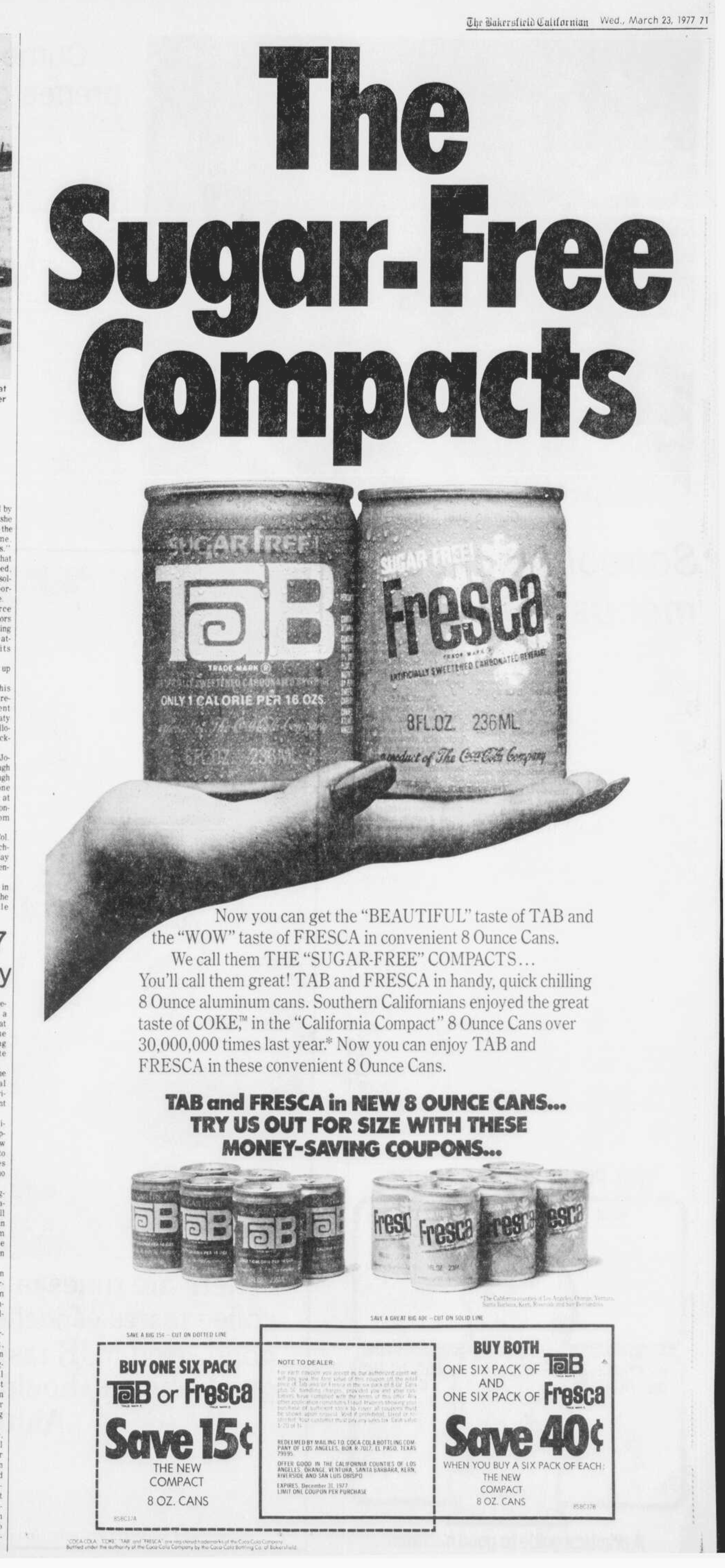 Image result for fresca tab vintage