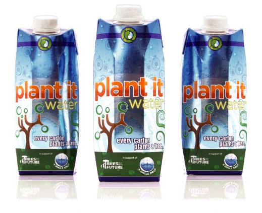 Plant it water