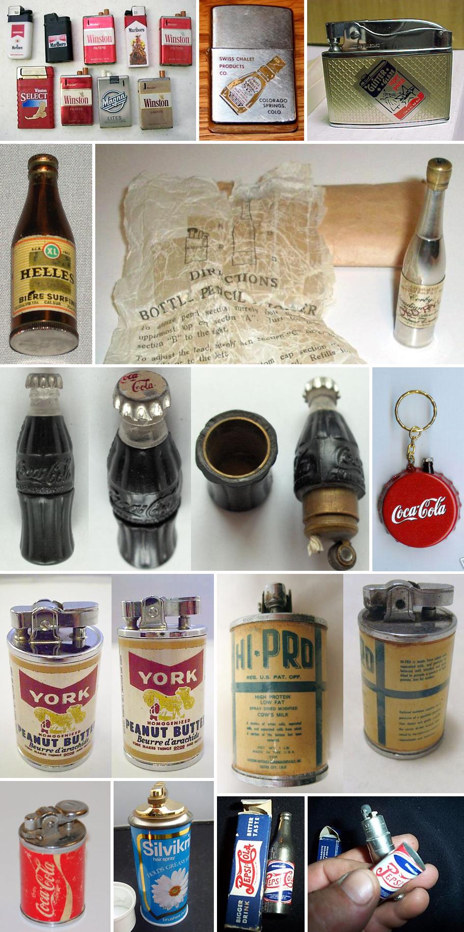 VintagePackLighters