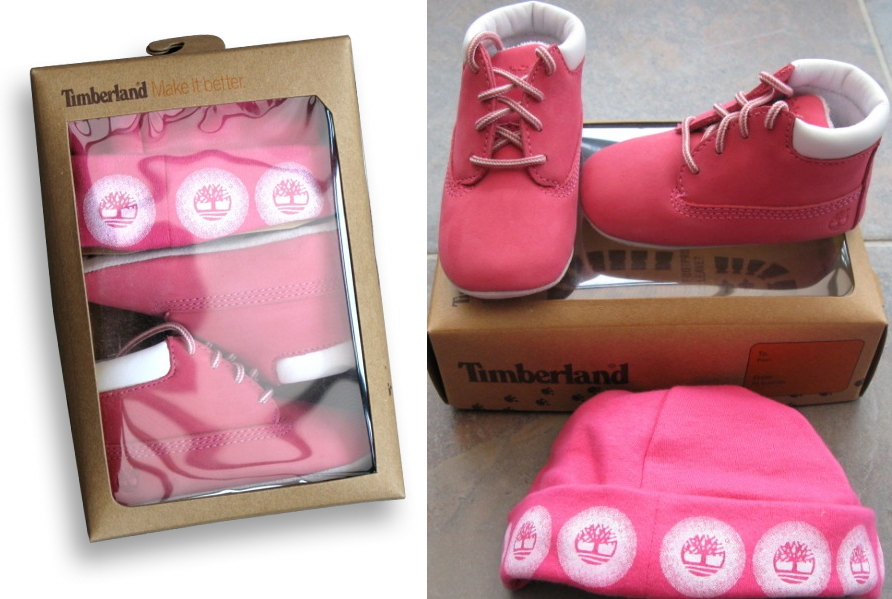 Another baby found in a Timberland shoe