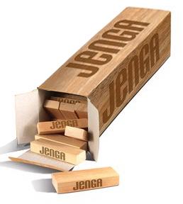Fractal Jenga Box | BEACH
