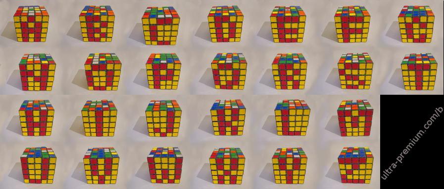 Rubiks-alphabet