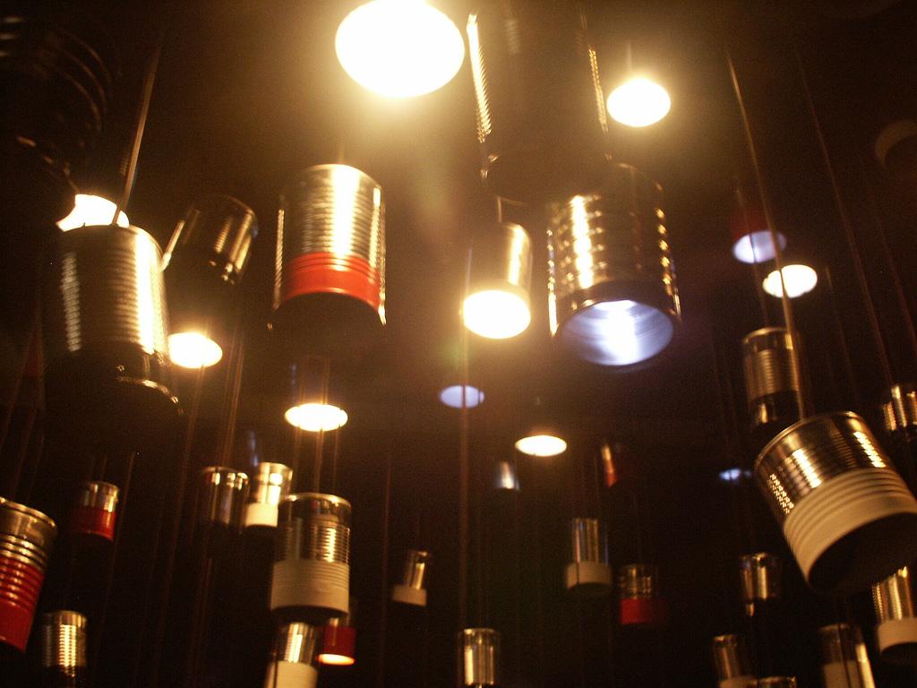 tin can light fixture gallery