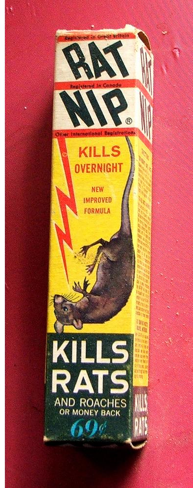 Rat Nip for RAT NIP on the right