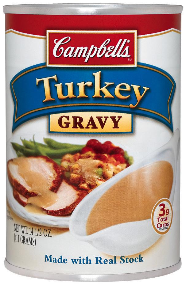 Camp turkey gravy