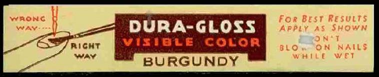 DuraGlossLabel