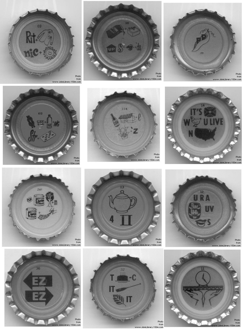 lucky lager cap puzzles